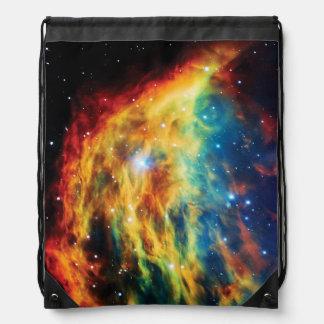 Das Medusa-Nebelfleck Hubble Weltraum-Foto Sportbeutel