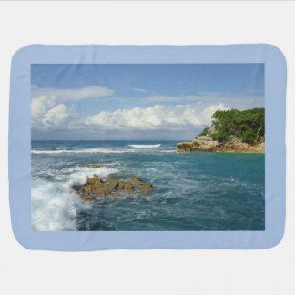 Das Meer von Labadee Babydecke