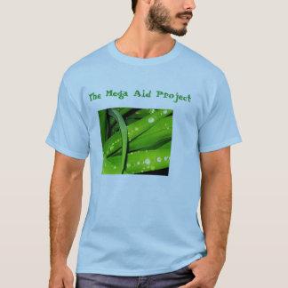 Das Mega- Hilfsprojekt-grundlegende erwachsene T-Shirt