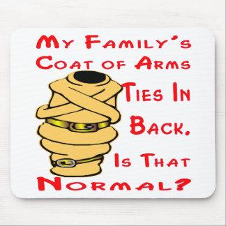 Das mein Wappen der Familie Krawatten in der Mousepad