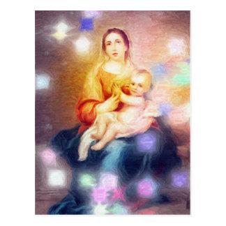 Das Meisterwerk des Gottes ist Mutter Postkarte