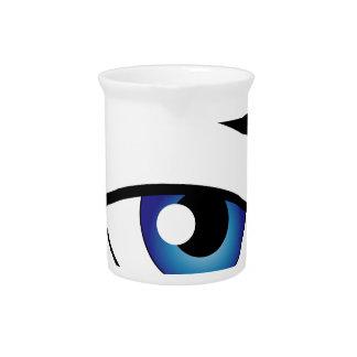 Das menschliche Auge Krug