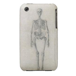 Das menschliche Skelett, vorhergehende Ansicht, vo iPhone 3 Case-Mate Hülle