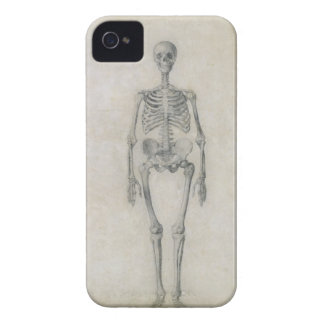 Das menschliche Skelett, vorhergehende Ansicht, vo iPhone 4 Case-Mate Hülle