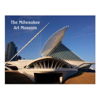Das milwaukee-Kunst-Museum Postkarte