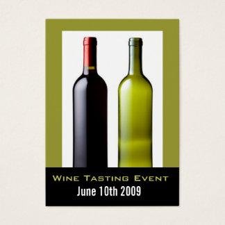 Das Mini Weinprobe-Ereignis laden Karten ein