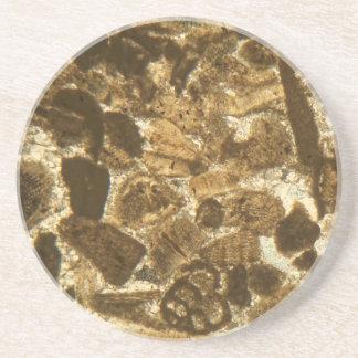 Das Miozän betreffender Kalkstein unter dem Sandstein Untersetzer