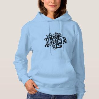 Das mit Kapuze Sweatshirt der Frauen. mit