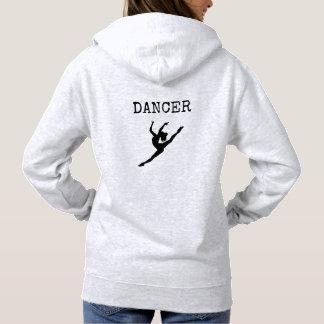 Das mit Kapuze Sweatshirt des Tänzers