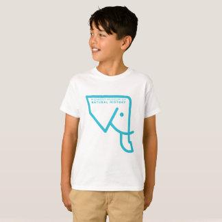 Das MMNH der Kinder blauer Elefant-T - Shirt