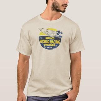 Das MONACO-WELTlaufende MEISTERSCHAFT T - Shirt