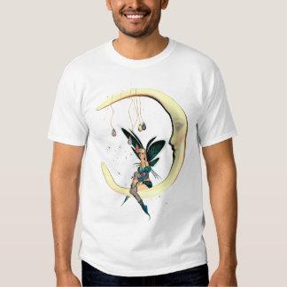 Das Mond-feenhafte T-Shirt mit Sternen