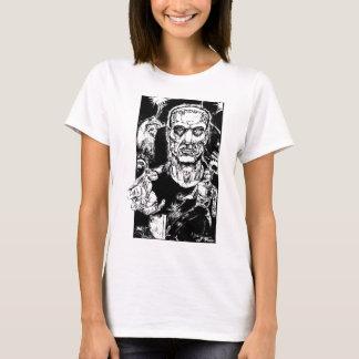 Das Monster entgeht Mädchen T T-Shirt