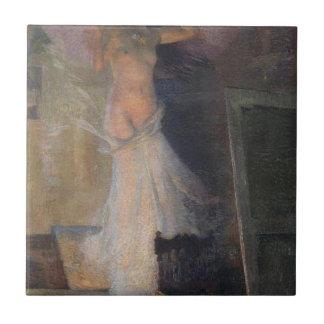 Das Muse des Malers durch Henri Martin Keramikfliese