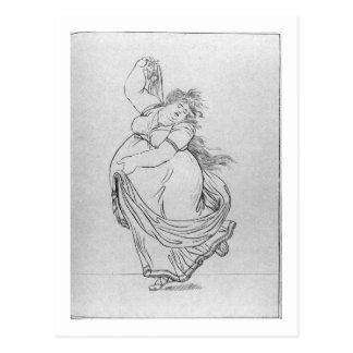 Das Muse des Tanzes, Platte VI von einem Postkarte