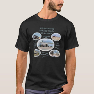 Das mysteriöse San- Luistal von Colorado-T - Shirt