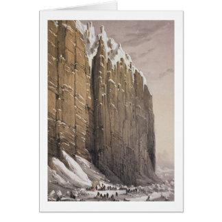 Das Nachtlager, Kap Seppings, von 'zehn gefärbt Karte