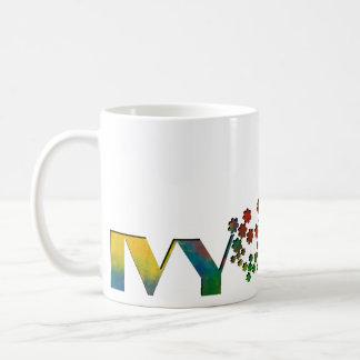 Das Namensspiel - Efeu Kaffeetasse