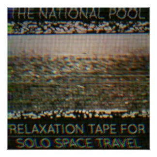 """Das nationale Pool - """"Entspannungs-Band…"""" Plakat Perfektes Poster"""