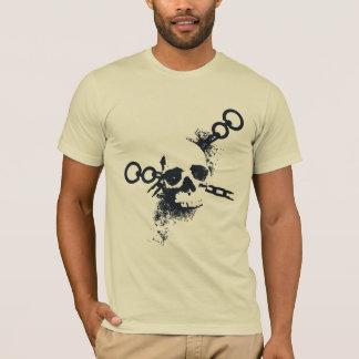 Das necromancer-Schädel-Symbol T-Shirt