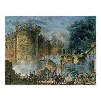 Das Nehmen der Bastille, am 14. Juli 1789 Postkarte