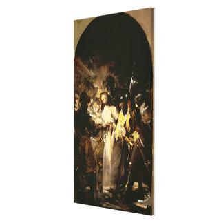 Das Nehmen von Christus, c.1798 Gespannter Galeriedruck