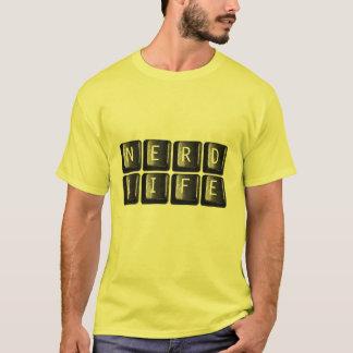 Das Nerd-Leben befestigt die Nerdy T-Shirt