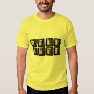 Das Nerd-Leben befestigt die Nerdy T Shirts