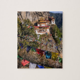 Das Nest-Kloster des Tigers, Bhutan Puzzle