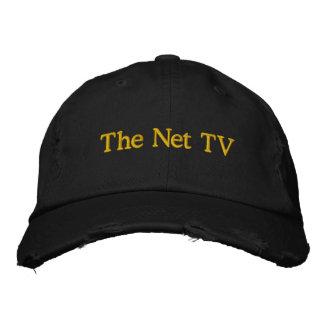 Das Netz Fernsehen Besticktes Baseballcap