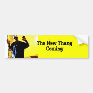 Das neue Thang Kommen Autoaufkleber