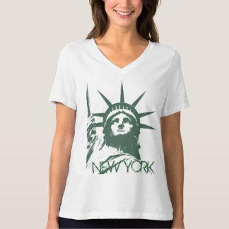 Das New- YorkShirt der Frauen plus Shirts der