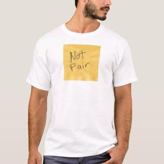 Das nicht angemessene Shirt