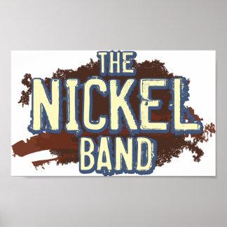 "Das Nickel-Band-Plakat 24"" x 20"" Poster"