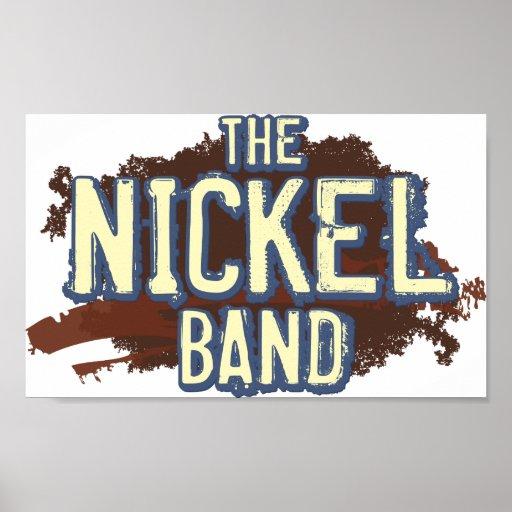 "Das Nickel-Band-Plakat 24"" x 20"""