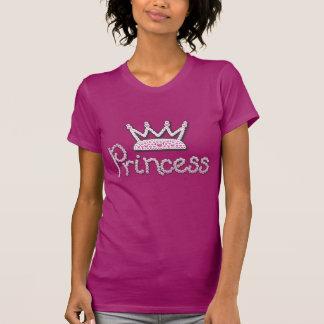 Das niedliche gedruckte Rosa perlt Prinzessin Hemden