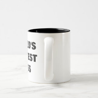 Das Okayest der Welt Chef Zweifarbige Tasse