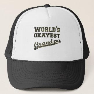 Das Okayest der Welt Großvater 2 Truckerkappe