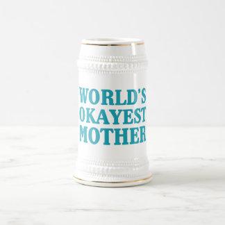 Das Okayest der Welt Mutter Bierglas