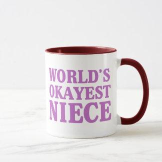 Das Okayest der Welt Nichte Tasse