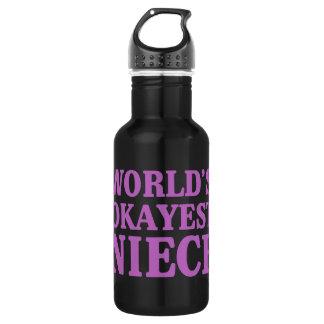 Das Okayest der Welt Nichte Trinkflasche