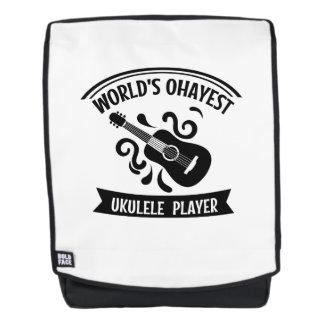 Das Okayest der Welt Ukulele-Spieler Uke Rucksack
