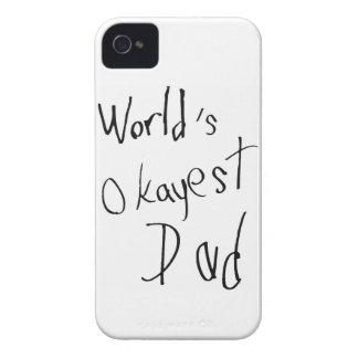 Das Okayest der Welt Vati iPhone 4 Hüllen