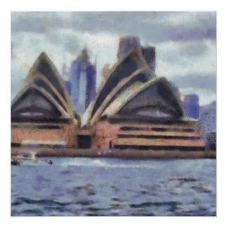 Das Opernhaus Poster