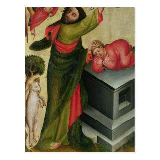 Das Opfer von Isaac vom hohen Altar Postkarte