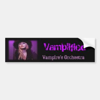 Das Orchester Vamplified Vampirs Autoaufkleber