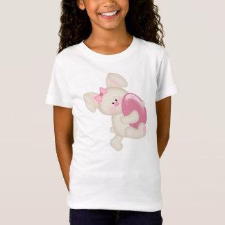 Das Ostern-Spitze der Mädchen (angepasst) T-Shirt