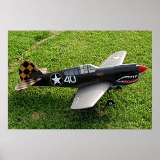 Das P-40 Warbird Plakat
