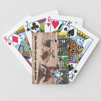 Das PaddelwaldAgentrodeo Bicycle Spielkarten