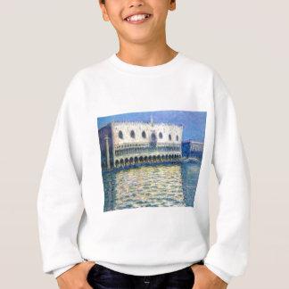 Das Palazzo Ducale durch Claude Monet Sweatshirt